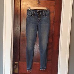 Lucky Brand frayed jeans